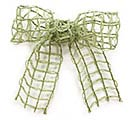 #40 MOSS GREEN LATTICE JUTE RIBBON 1st Alternate Image