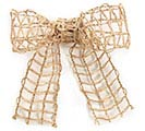 #40 NATURAL LATTICE JUTE RIBBON 1st Alternate Image