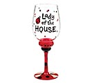 LADY OF THE HOUSE WINE GLASS