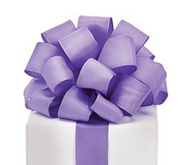 #9 PURPLE TAFFETA WIRED RIBBON