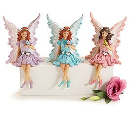 SPRING FAIRIES RESIN FIGURINE SET