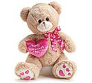 PLUSH HAPPY VALENTINE'S DAY BEAR