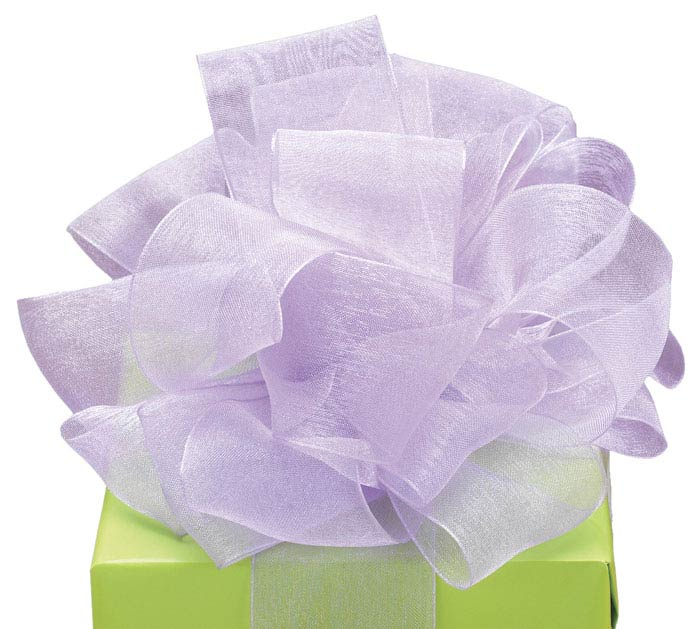 #9 LAVENDER SHEER RIBBON