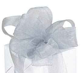 #9 PEWTER SHEER RIBBON