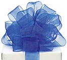 #5 ROYAL BLUE SHEER RIBBON