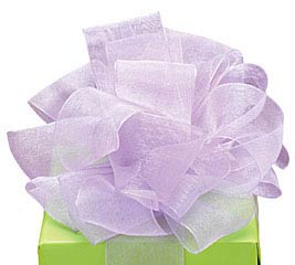 #5 LAVENDER SHEER RIBBON