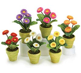 SPRING MIX POTTED SILK ASSORTMENT