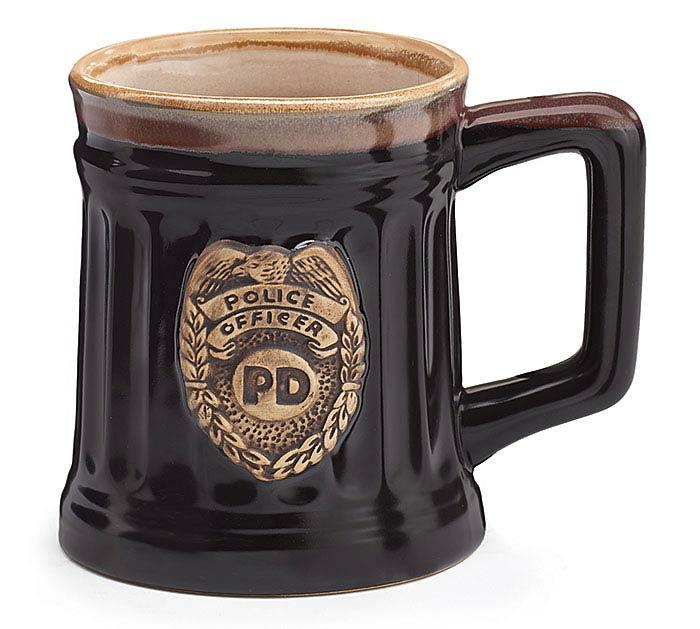 POLICE DEPARTMENT PORCELAIN MUG
