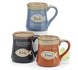 RELIGIOUS MESSAGES PORCELAIN MUG