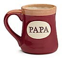 PAPA/MESSAGE PORCELAIN MUG