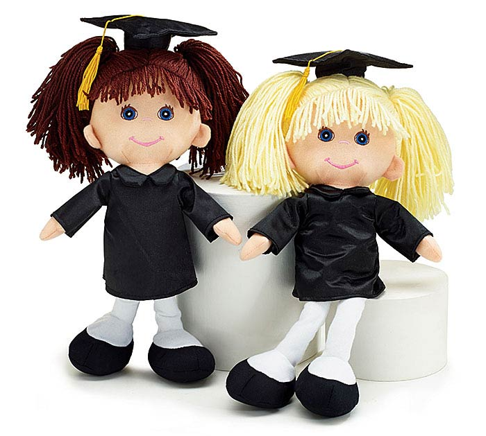 PLUSH GRADUATION DOLL