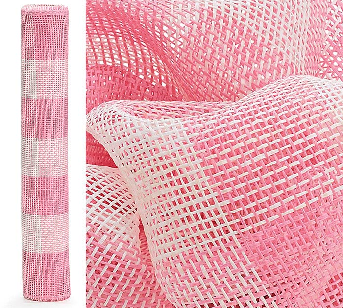MESH PAPER PINK ROLL