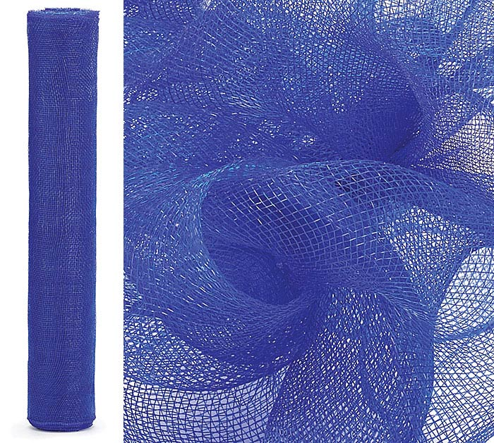 "21"" ROYAL BLUE SOLID MESH ROLL"