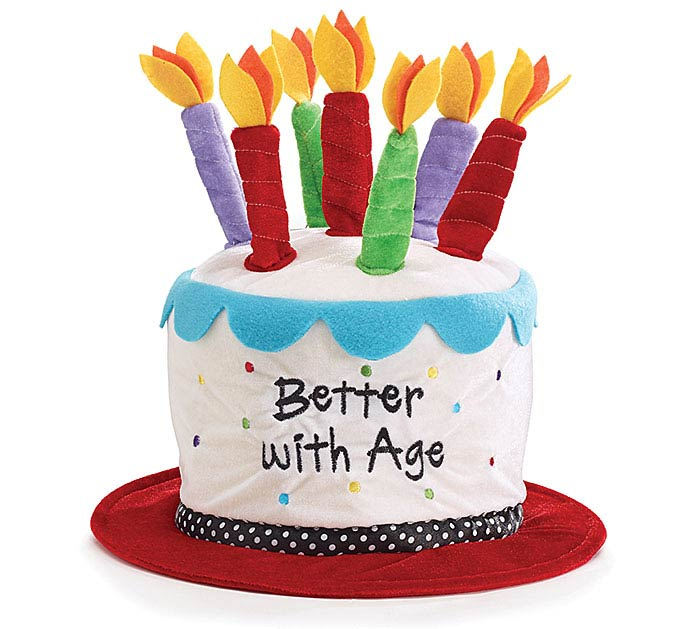 Product Details BETTER WITH AGE VELVET BIRTHDAY HAT