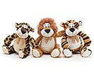 PLUSH JUNGLE ANIMAL TRIO