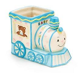PLANTER BABY BOY TRAIN