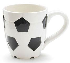 SOCCER BALL CERAMIC MUG