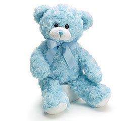 PLUSH BLUE BEAR