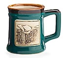 WESTERN COURAGE PORCELAIN MUG