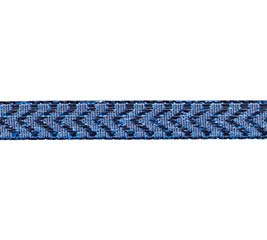 #2 METALLIC ROYAL BLUE CHEVRON RIBBON