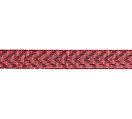 #2 METALLIC RED CHEVRON CORSAGE RIBBON