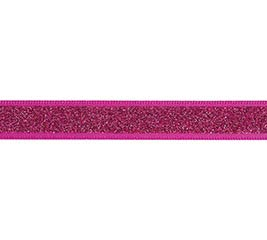 #2 HOT PINK SPARKLE SATIN CORSAGE RIBBON