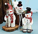 DECOR ASTD SNOWMEN