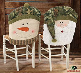 MOSSY OAK SANTA CHAIR COVER