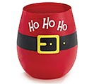 SANTA BELT STEMLESS WINE GLASS