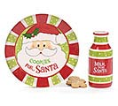 ROUND COOKIES FOR SANTA GIFT SET