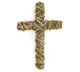 DECOR RATTAN CROSS