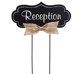 YARD STAKE RECEPTION