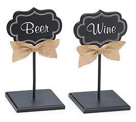 DECOR BEVERAGE SIGNS