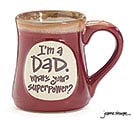 DAD SUPERPOWER PORCELAIN MUG