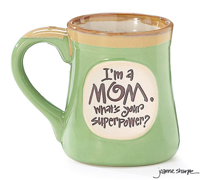 MOM SUPERPOWER PORCELAIN MUG