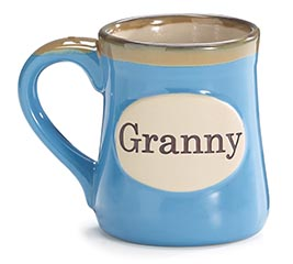GRANNY/MESSAGE PORCELAIN MUG