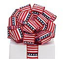 #9 STARS /STRIPES WIRED SATIN RIBBON