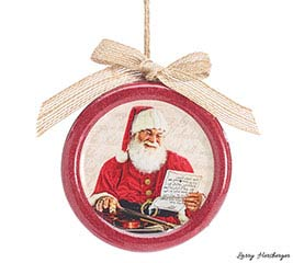 ORNAMENT MAGICAL SANTA