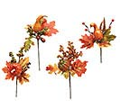 "12"" PUMPKINS/GOURDS FALL THEME PICK SET"