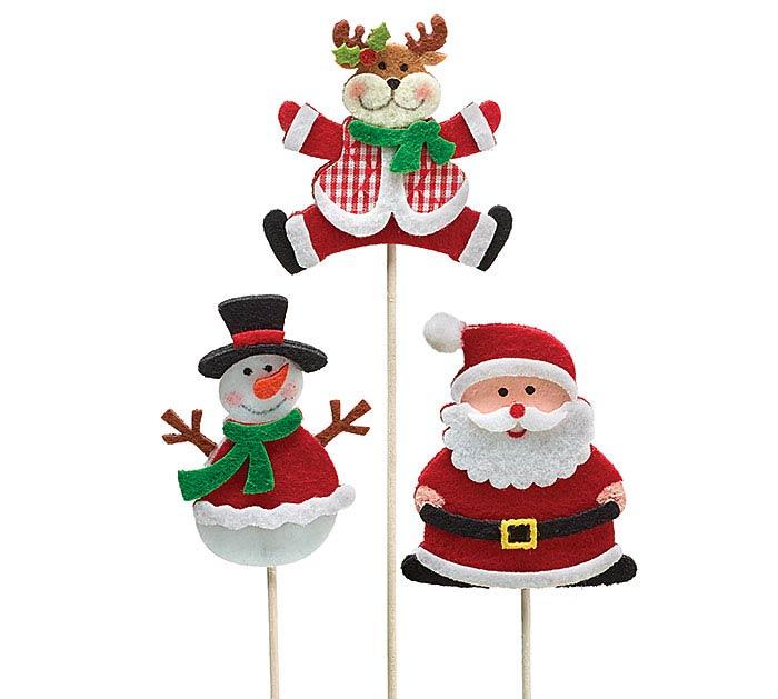 "11.5"" FLET CHRISTMAS PICK SET"