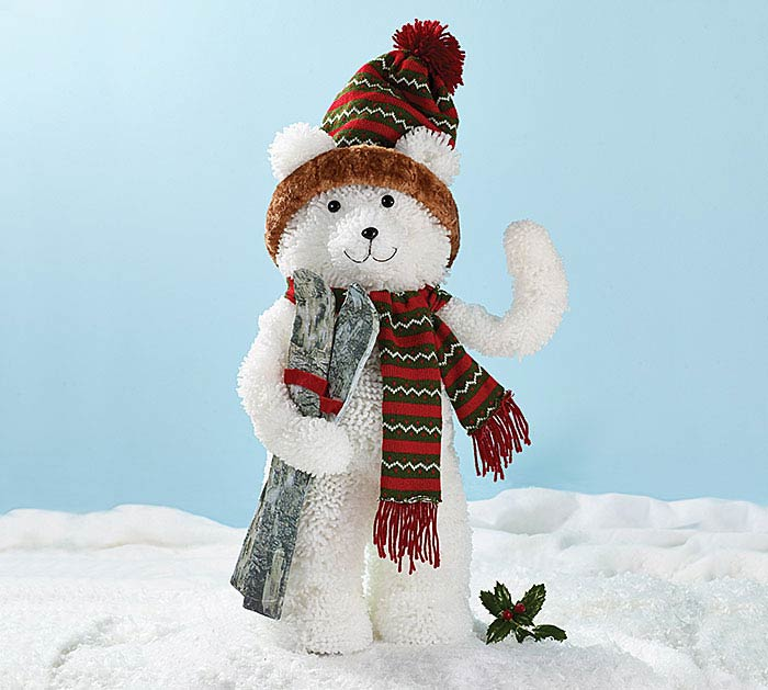DECOR SNOW BEAR