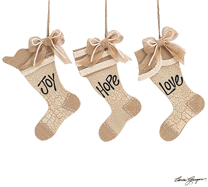 ORNAMENT STOCKING