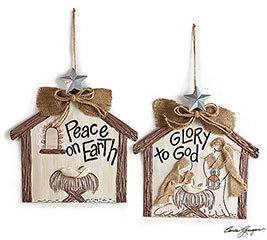 WALL HANGING NATIVITY SCENES  MESSAGES