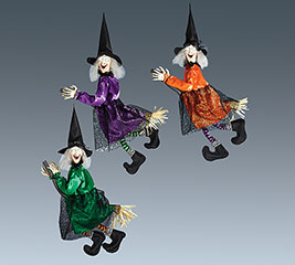 DECOR FLYING WITCHES