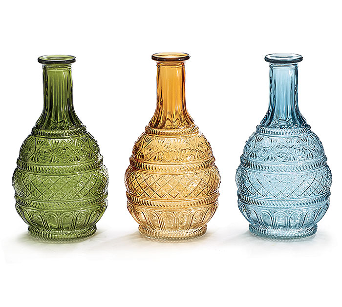 VASE PRESSED GLASS