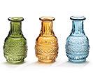 VASE PRESSED GLASS