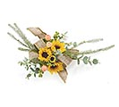 #3 NATURAL BURLAP CORSAGE WIRED RIBBON 1st Alternate Image