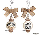ORNAMENT SILENT NIGHT