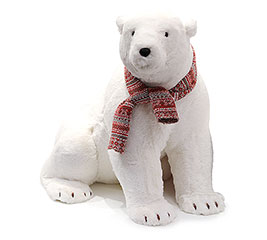 DECOR LG POLAR BEAR