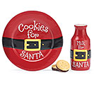 SANTA BELT COOKIES FOR SANTA GIFT SET